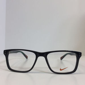5c7176c845aa Nike Accessories - Nike 7243 002 black emerald green plastic Eyeglass